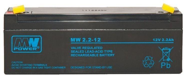 Akumulator żelowy MW 12V 2,2Ah