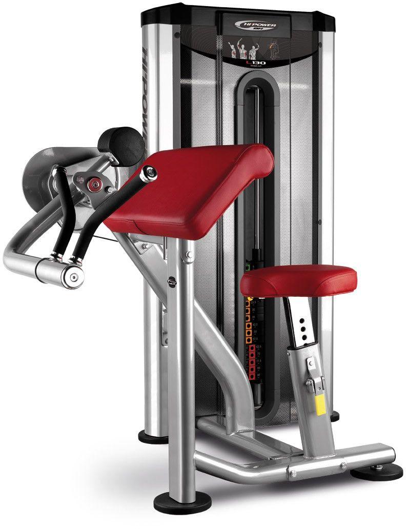 Maszyna do ćwiczeń mięśni bicepsu Biceps Curl L130 BH Fitness