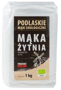 Mąka żytnia razowa BIO typ 2000 1 kg BIOLIFE