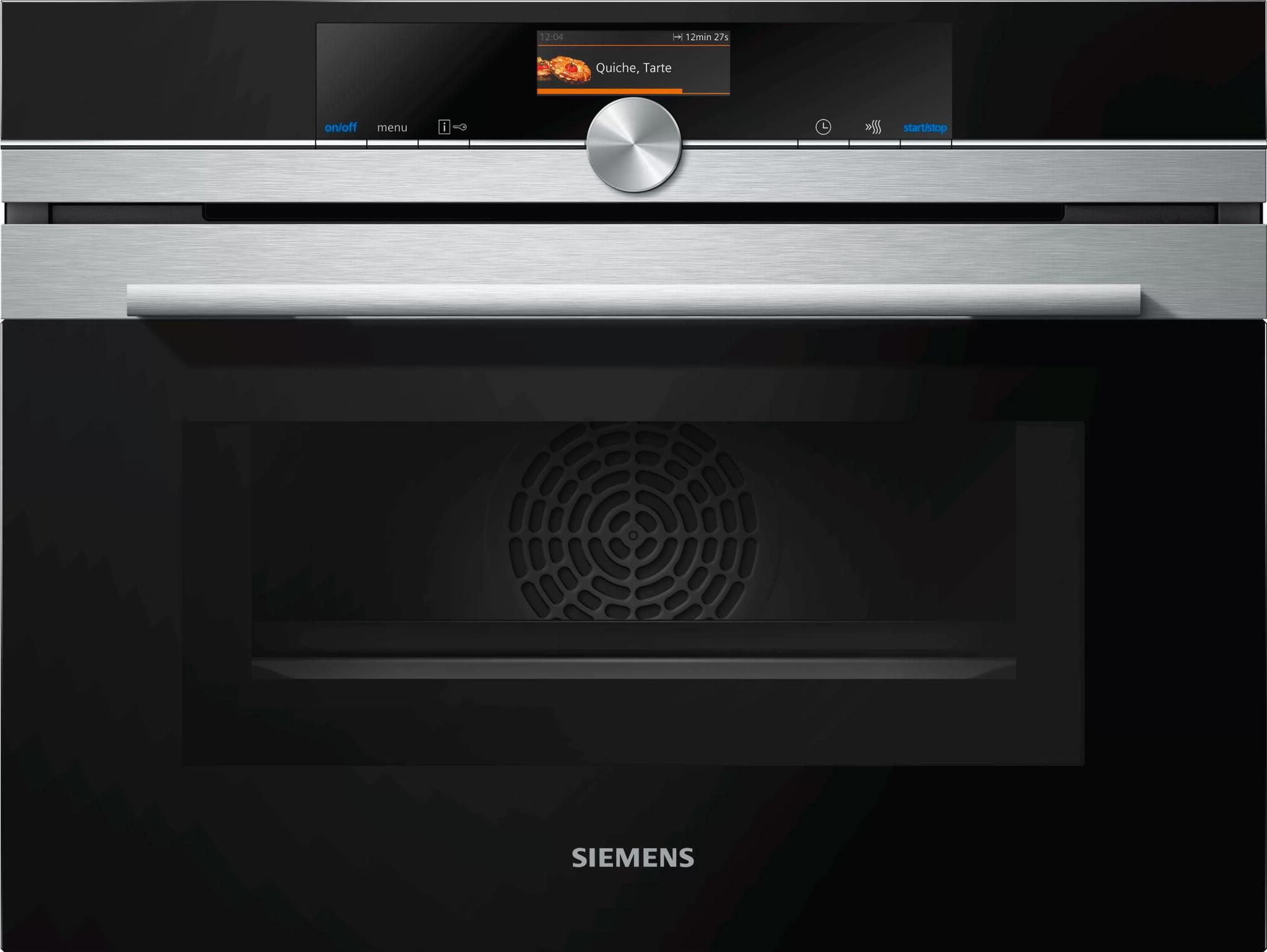 Piekarnik kompaktowy z funkcją mikrofali SIEMENS CM656GBS1