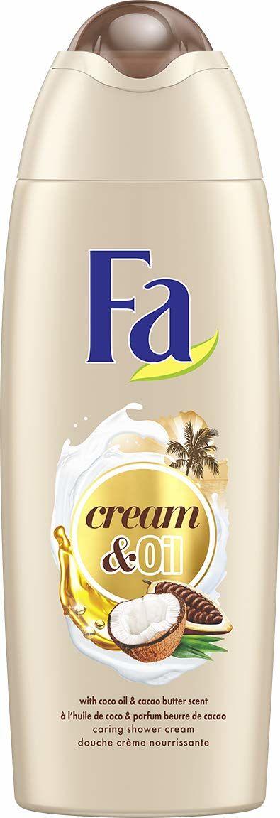 Fa - Żel pod prysznic - Krem i olej - Olej kokosowy i zapach masła kakaowego - 250 ml
