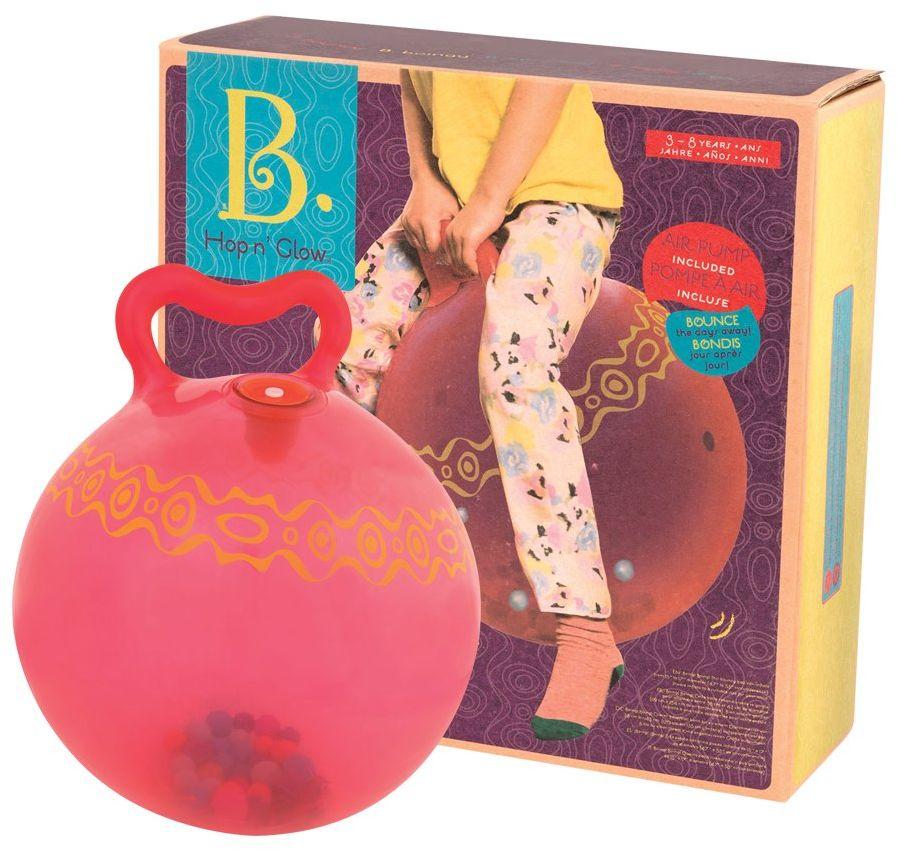 B. Toys 44628  piłka do skakania dla małych dzieci, czerwona