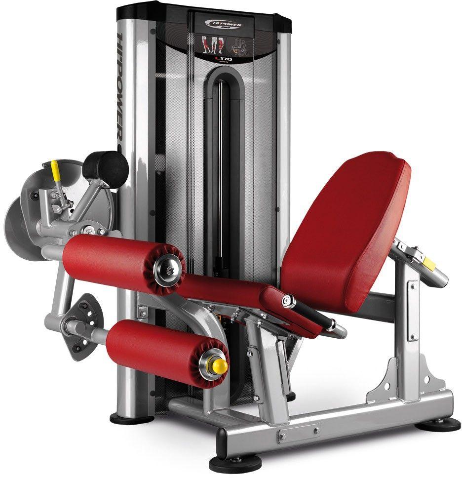 Maszyna do ćwiczeń mięśni nóg Seated Leg Curl L170 BH Fitness