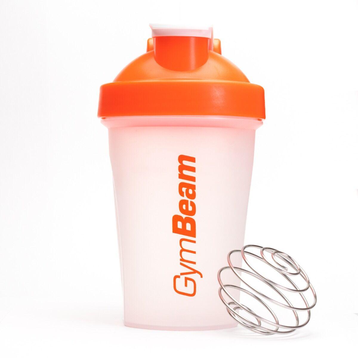 GymBeam Szejker przezroczysto-pomarańczowy 400 ml