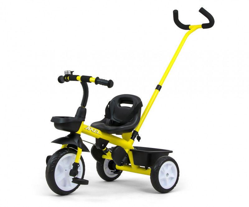 Rowerek trójkołowy Axel Yellow