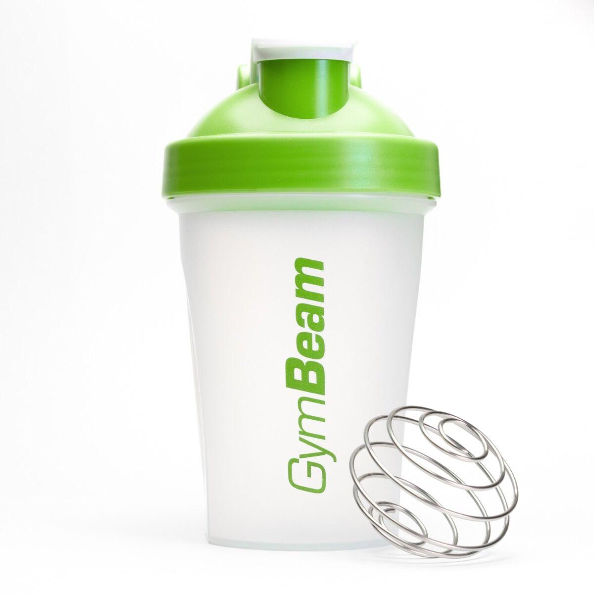 GymBeam Szejker przezroczysto-zielony 400 ml