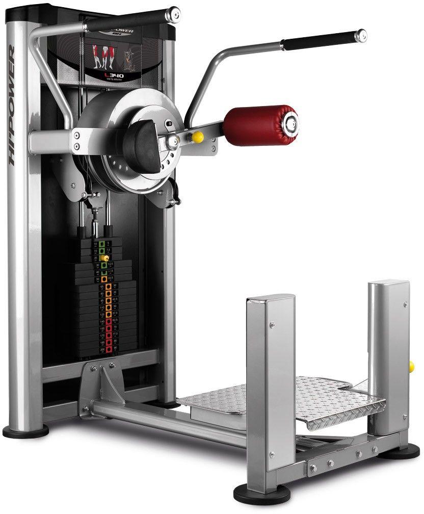Maszyna do ćwiczeń mięśni nóg Total Hip Abduction L340 BH Fitness