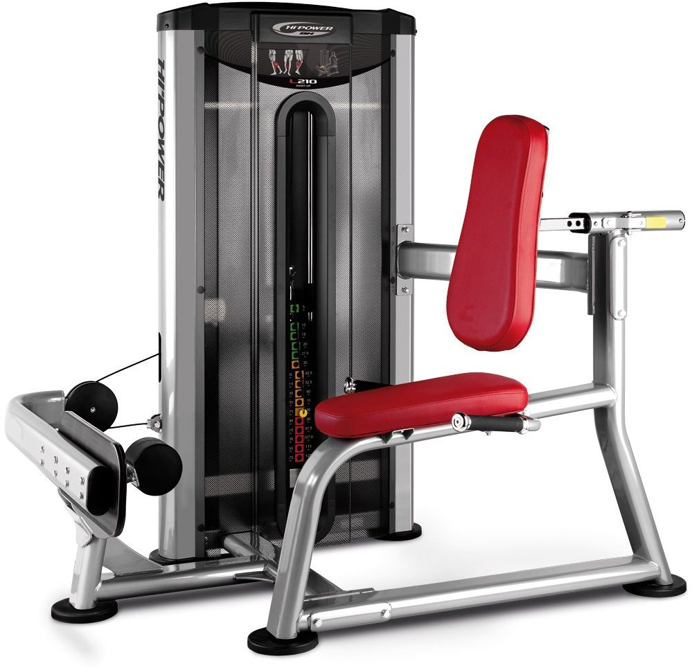 Maszyna do ćwiczeń mięśni nóg Seated Calf L210 BH Fitness