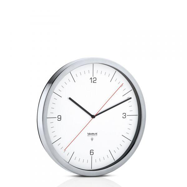 Blomus CRONO Zegar Sterowany Radiowo 30 cm Biały