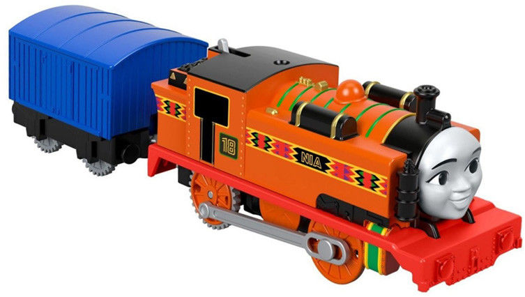 Fisher Price - Trackmaster Pociąg Nia z wagonikiem FXX47