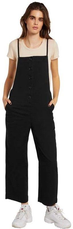 sukienka VOLCOM - Twill Do Romper Black Out (BKO)