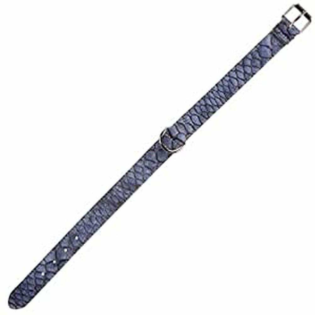 Arppe 1945013006 naszyjnik skóra, krokodyl niebieski