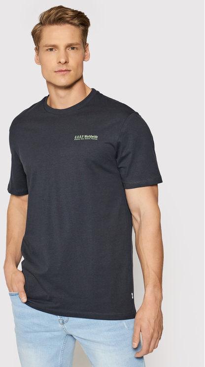 ONLY & SONS T-Shirt Adam 22019288 Granatowy Regular Fit