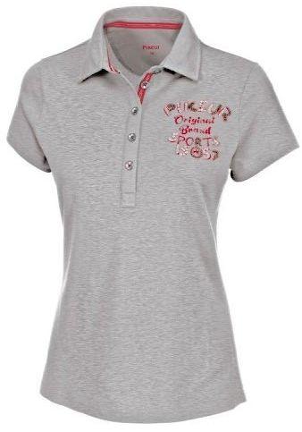 Koszulka polo damska JOHANNA - Pikeur - szara