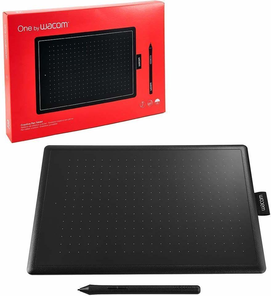 Wacom One CTL-472-N Creative Pen tablet do rysowania czarny, rozmiar S