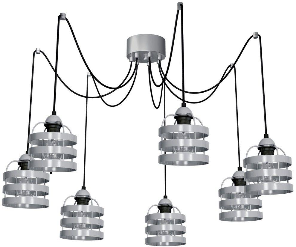 Lampa wiszaca LARS GREY 7xE27