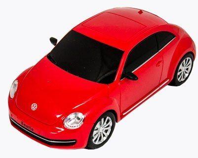 Samochód RC Volkswagen Beetle - lic 1:20 czerwony