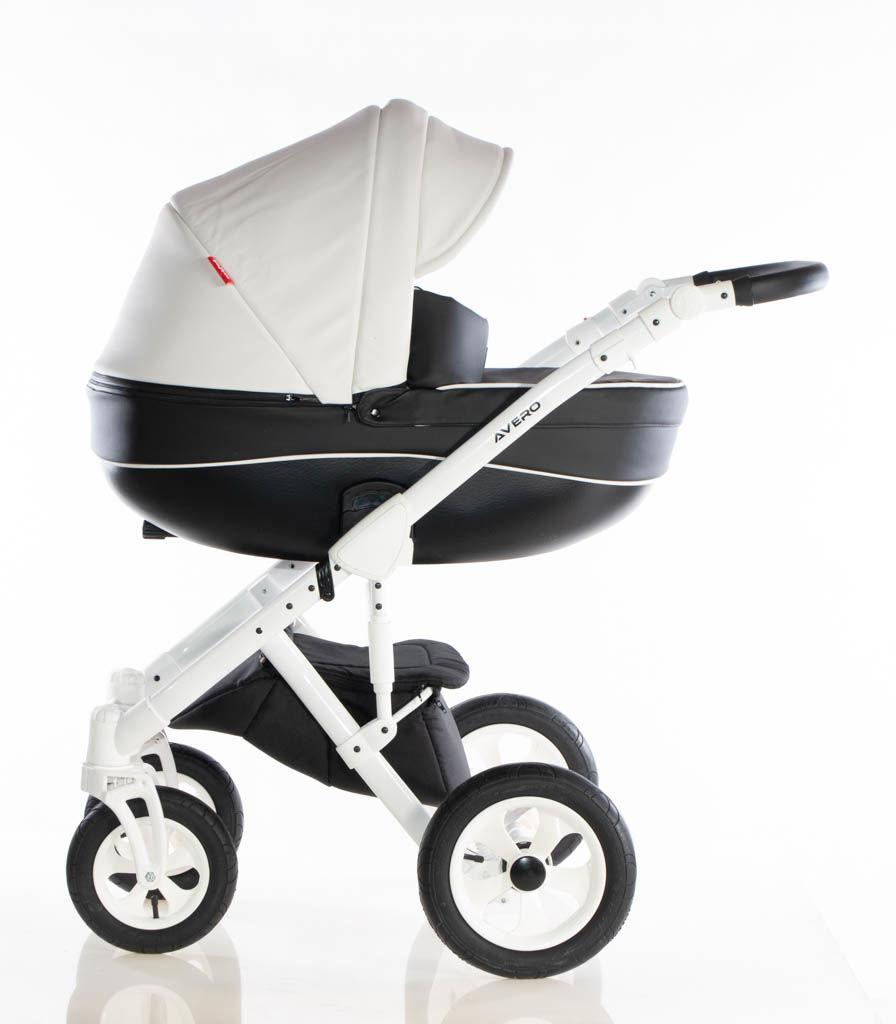 Avero II - kol. 05-WH - 3w1 - Wózek dziecięcy - Kajtex