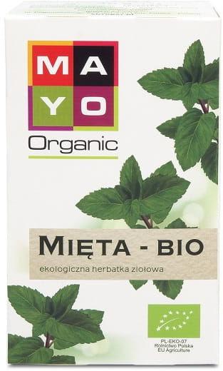 Herbatka mięta bio (20 x 1,5 g) 30 g - mayo