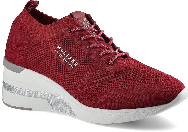 Sneakersy MUSTANG 1303-304-5 Czerwony 46C0002