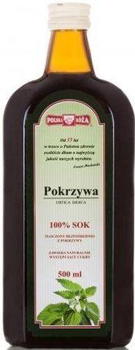 Sok z Pokrzywy 500ml - Polska Róża