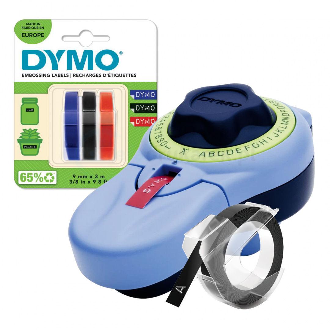 Zestaw wytłaczarka etykiet DYMO Junior S0717900 + 3-pak taśm S0847750 KUP z zamiennikami i oszczędzaj! - ZADZWOŃ 730 811 399