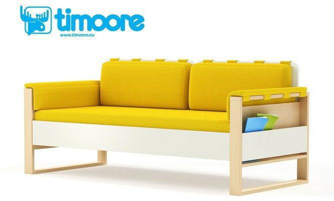 Sofa LOFT Timoore PL 08 opcja materac poduszki szuflada