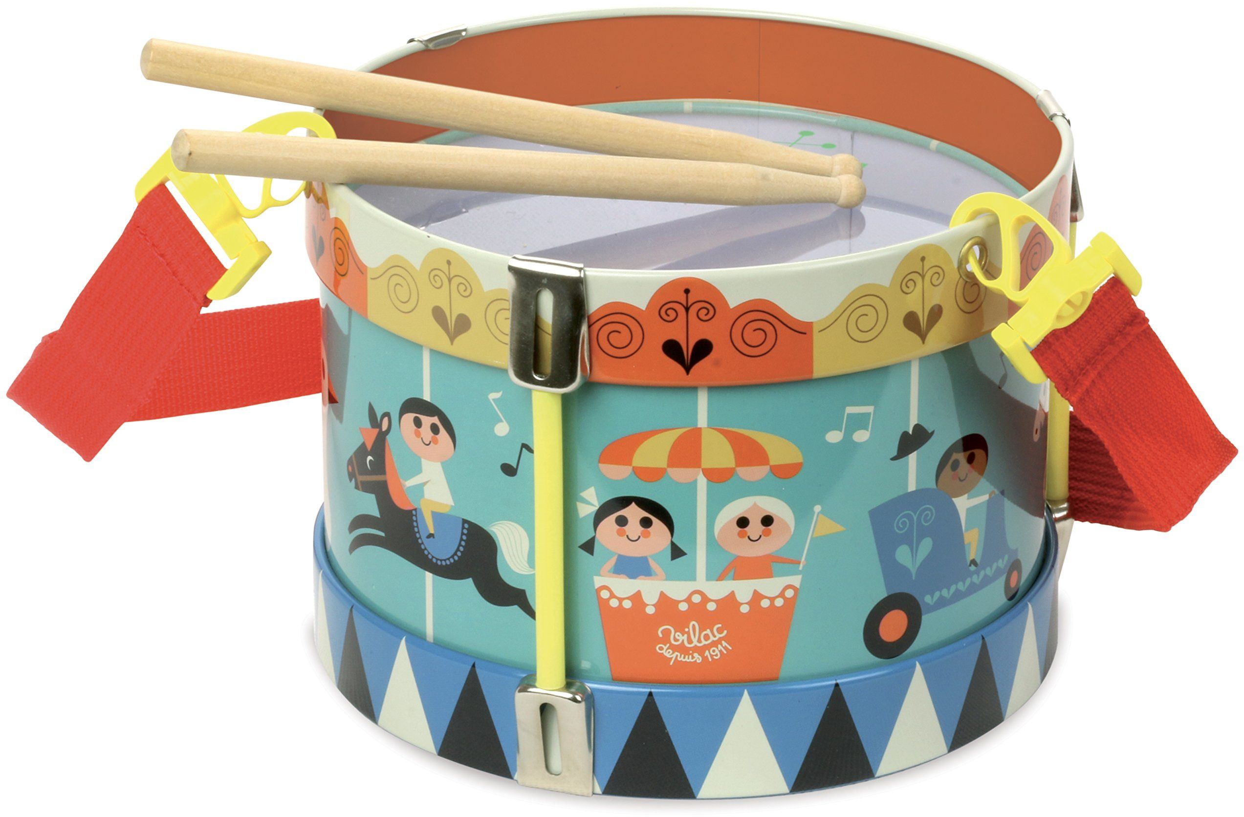 Vilac Vilac7705 metalowy drum