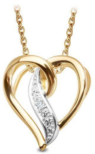 Złoty wisiorek WXX5112 - Diament