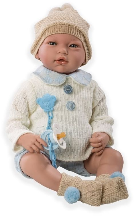 Hiszpańska lalka bobas Adrian - 46 cm MG10069