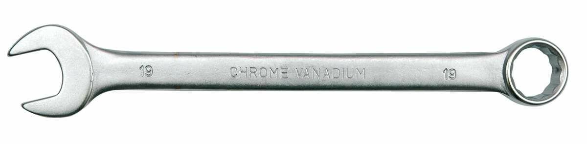 Klucz płasko-oczkowy c-v 32mm satyna Vorel 51696 - ZYSKAJ RABAT 30 ZŁ