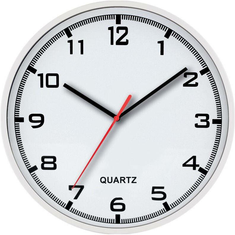 Zegar ścienny MPM E01.2479.00.A fi 30 cm CZYTELNY