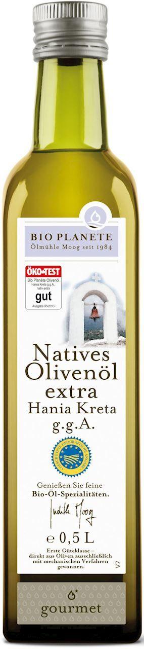 Oliwa z oliwek extra virgin kreta bio 500 ml - bio planete