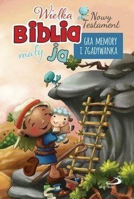 Gra memory i zgadywanka - NT. Wielka biblia...