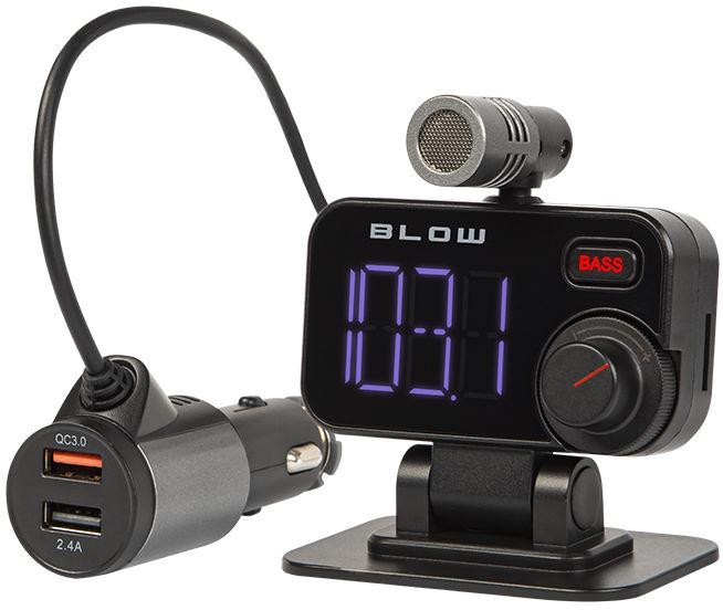 74-159# Transmiter FM Blow Bluetooth 5.0 + zestaw głośnomówiący