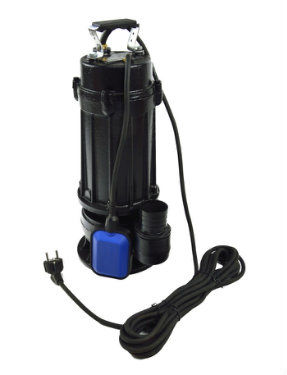 Pompa do wody brudnej / ścieków z rozdrabniaczem i pływakiem (miedziane uzwojenie)