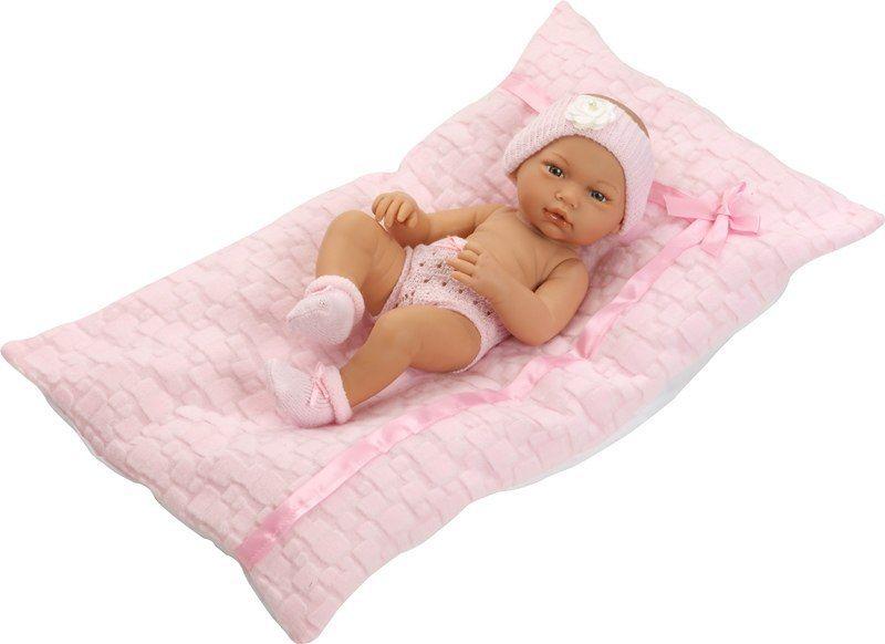 Hiszpańska lalka bobas Rosa z materacykiem - 36 cm
