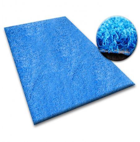 Wykładzina SHAGGY 5cm niebieski 60x100 cm