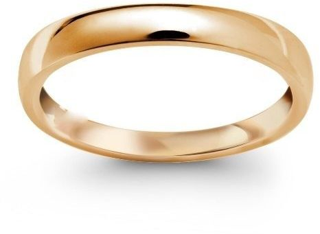Obrączka klasyczna z żółtego złota szer 3 mm zs-a-101z-d