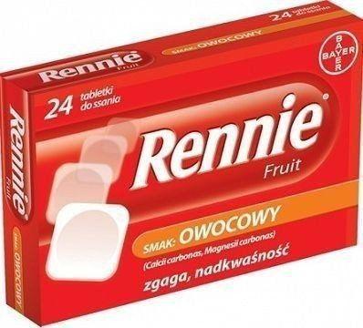 RENNIE FRUIT *24 TABL.D/SSANIA ROCHE CONSUMER HEA