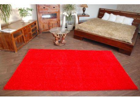 Wykładzina SHAGGY 5cm czerwień 60x100 cm