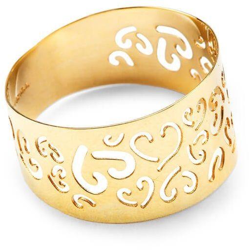Złoty pierścionek PXC4659