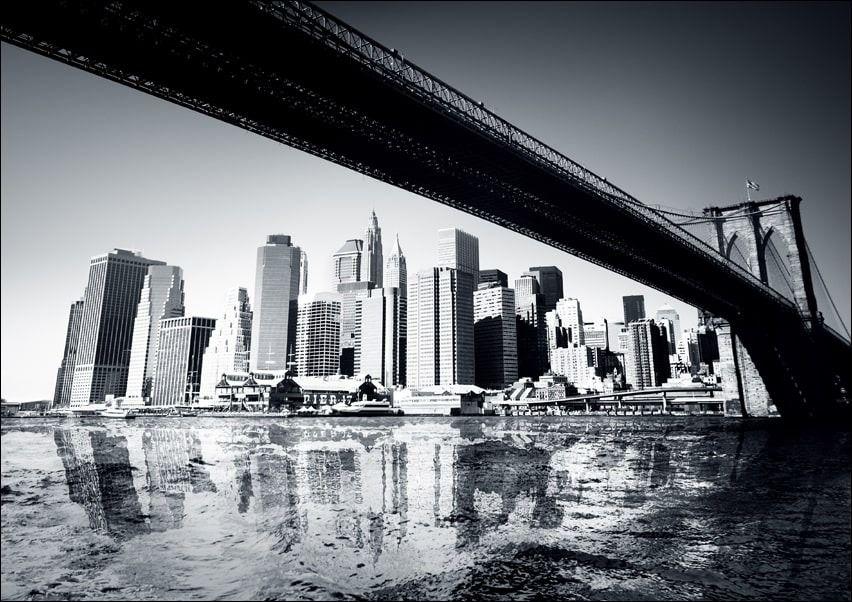 Nowy jork new york - plakat wymiar do wyboru: 80x60 cm