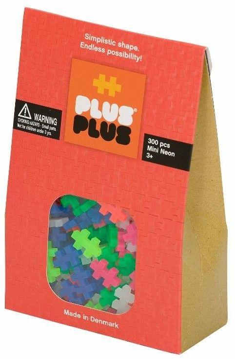 Klocki plastikowe PlusPlus Mini Neon 300 el.