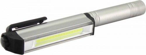 Latarka długopisowa mini 3W ProVero - biała zimna