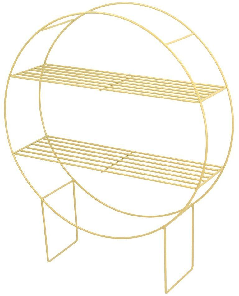 Półka - stojak Chicago gold wys.60,5cm