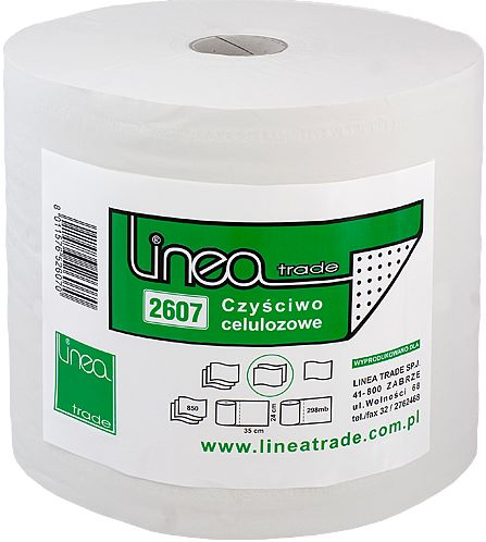 Czyściwo papierowe białe celuloza