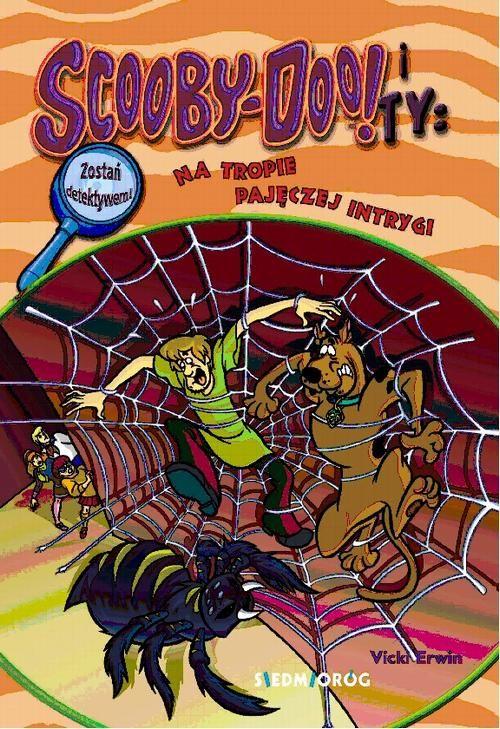 Scooby-Doo! Ty Na tropie pajęczej intrygi - Vicki Erwin - ebook