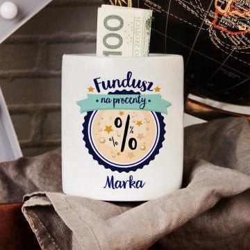 Fundusz na procenty - Skarbonka Personalizowana