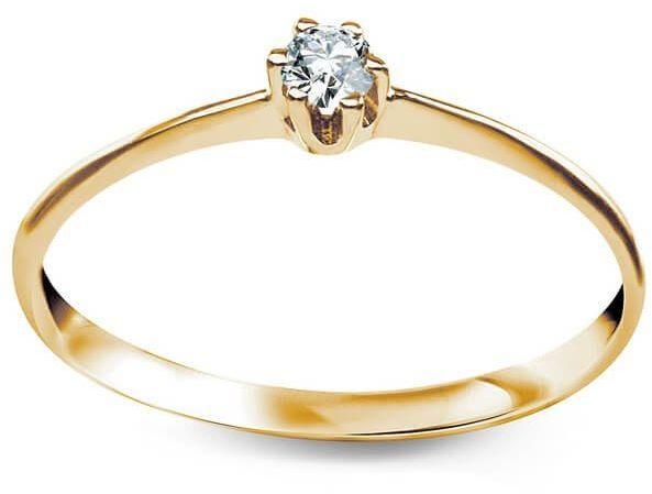 Złoty pierścionek PXC5469 - Cyrkonia
